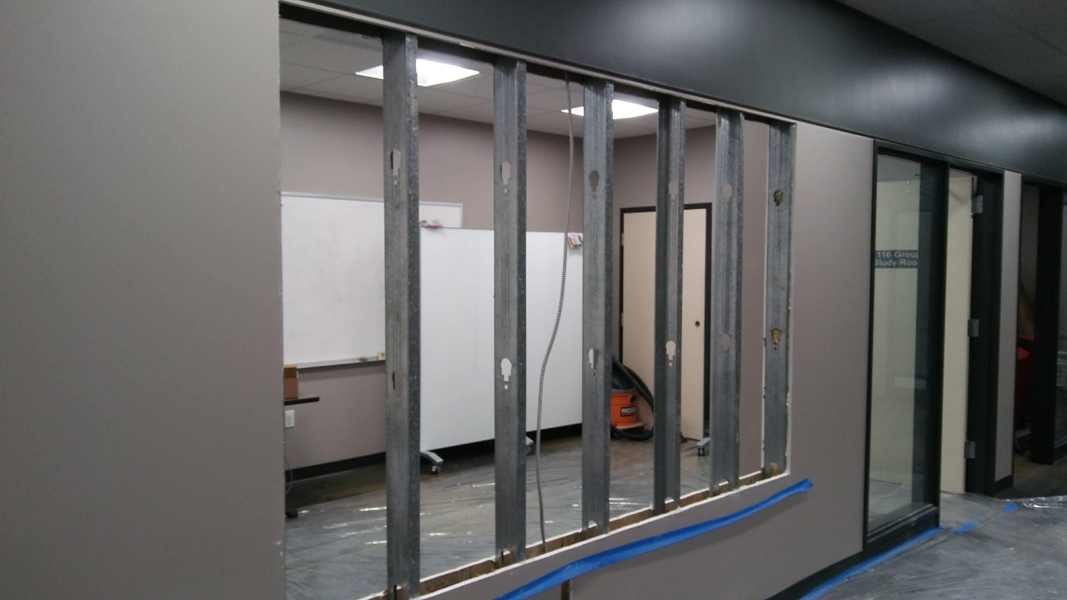 prep for window frame
