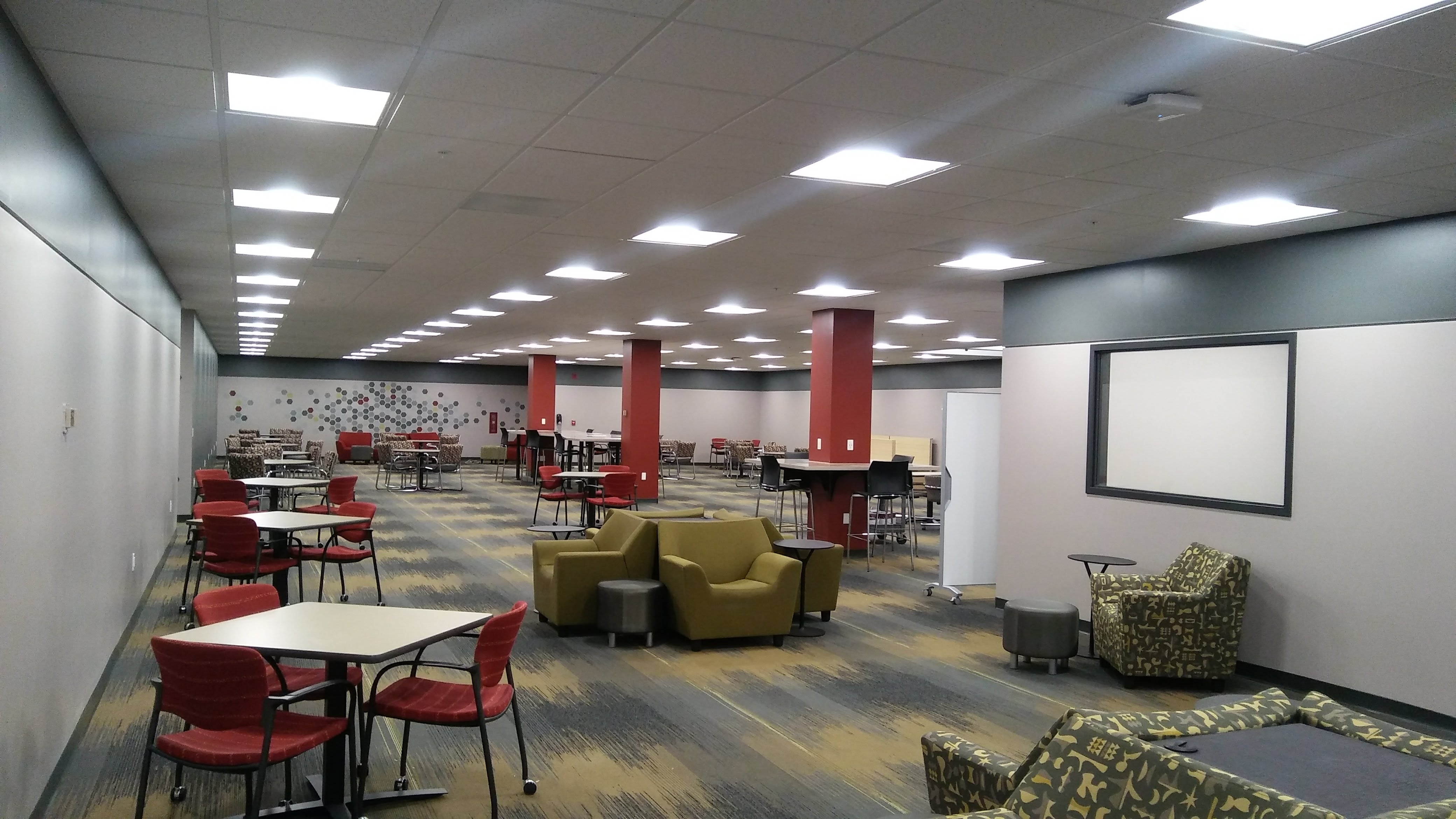 Student area nearly complete