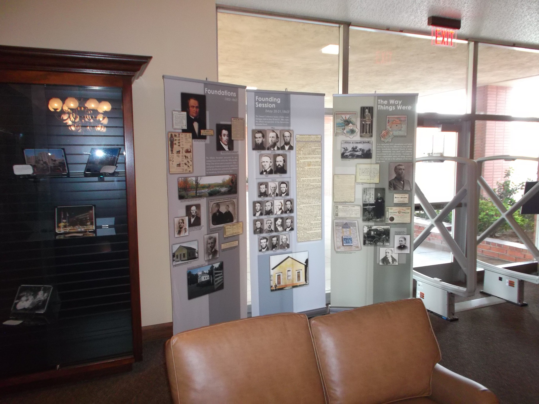New Exhibit on Display at The Heritage Research Center