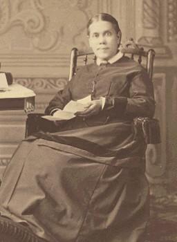 Ellen G White, circa 1878