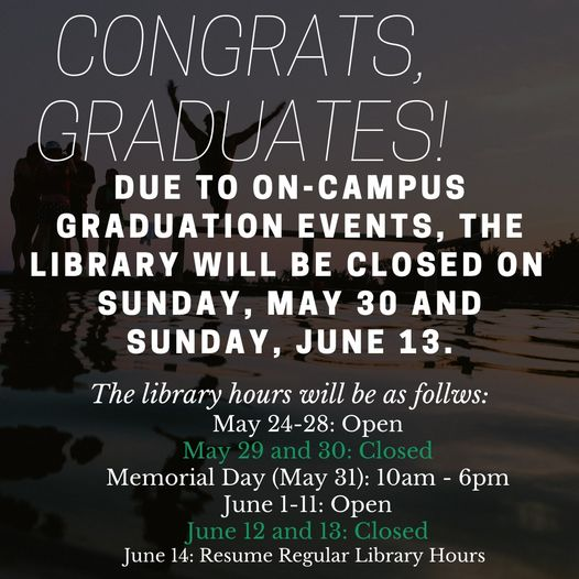 graduation closure information