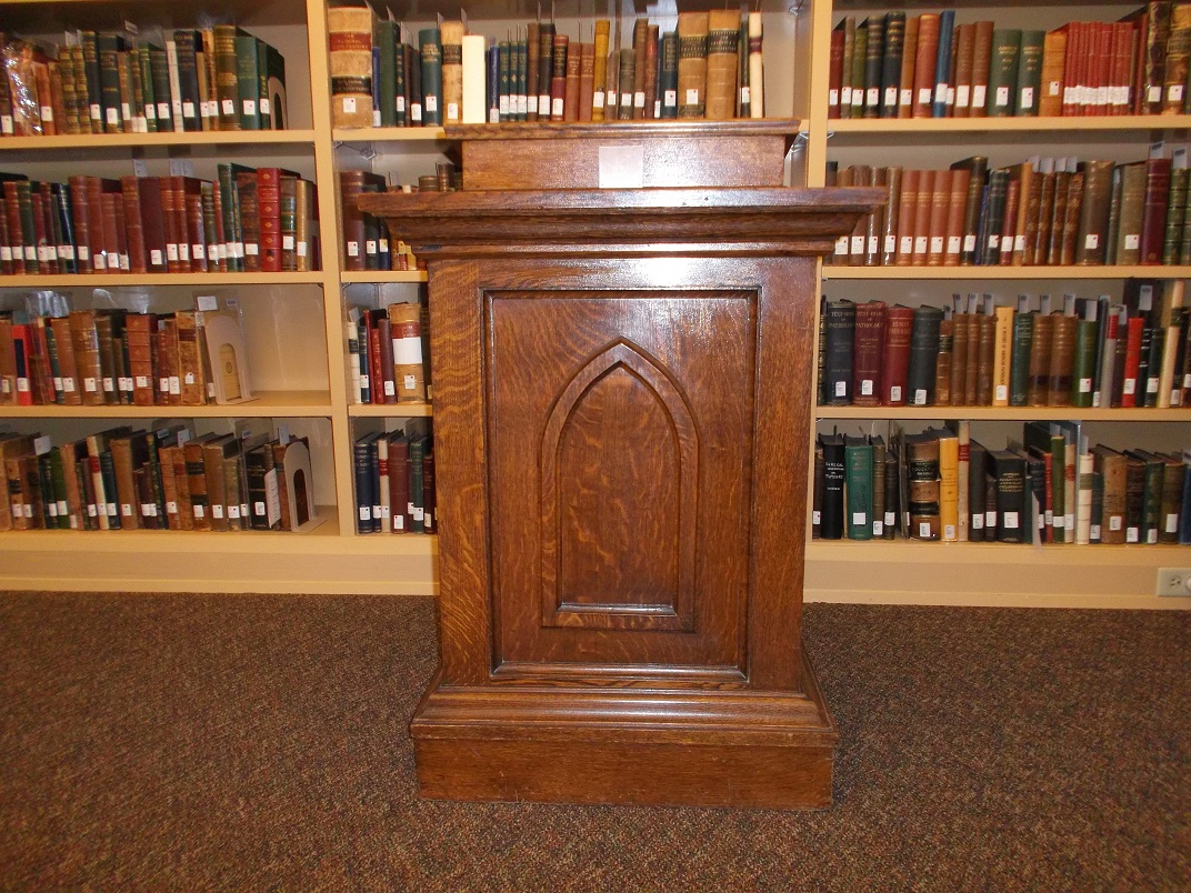 Pulpit from Campus Hill Church