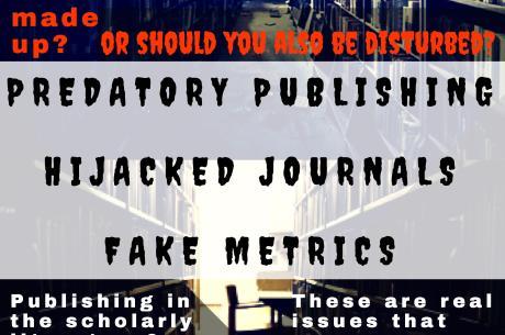 Scary Predatory Publishing